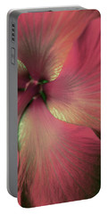 Portable Battery Charger featuring the photograph Flor Feliz by The Art Of Marilyn Ridoutt-Greene