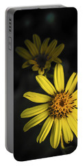 Flora In Yellow Portable Battery Charger