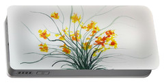 Floral 2 Portable Battery Charger