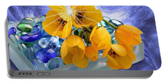 Floral 6 Portable Battery Charger