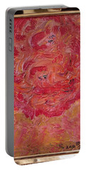 Floral Abstract 1 Portable Battery Charger