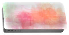 Floral Abstract Portable Battery Charger