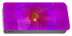 Portable Battery Charger featuring the mixed media Floral Aroma by Mary Ellen Frazee