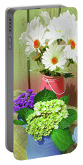 Floral Art 333 Portable Battery Charger