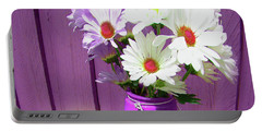 Floral Art 335 Portable Battery Charger