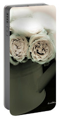 Floral Art 37 Portable Battery Charger