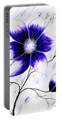 Floral Awakening Portable Battery Charger