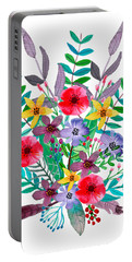 Just Flora Portable Battery Charger