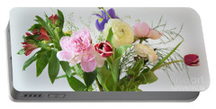 Portable Battery Charger featuring the photograph Floral Display by Wendy Wilton