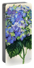 Floral Favorite Portable Battery Charger by Barbara Jewell