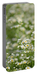 Floral Field #1 Portable Battery Charger