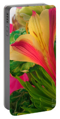 Floral Fusion Portable Battery Charger