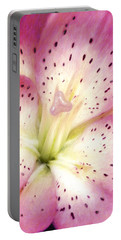 Floral I Portable Battery Charger