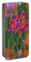 Floral Impresions Portable Battery Charger
