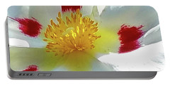 Floral Impressions Portable Battery Charger