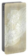 Floral Imprints Portable Battery Charger