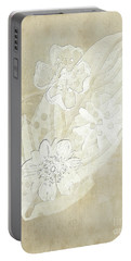 Floral Imprints Portable Battery Charger