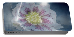 Floral Lightning Reflections Portable Battery Charger