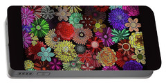 Floral Love Portable Battery Charger