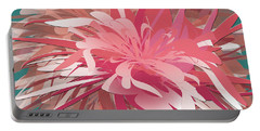 Floral Profusion Portable Battery Charger