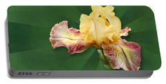 Floral Radiance Portable Battery Charger