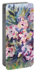 Floral Rhythm Portable Battery Charger