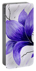 Floral Slumber Portable Battery Charger