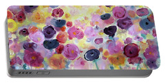 Floral Splendor IIi Portable Battery Charger