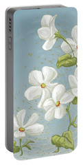 Floral Whorl Portable Battery Charger