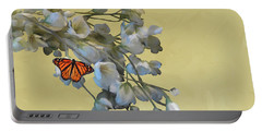 Floral05 Portable Battery Charger