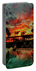 Floridian Iconic Sunset Portable Battery Charger