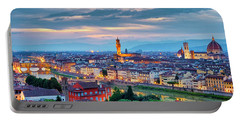 Portable Battery Charger featuring the photograph Florence by Fabrizio Troiani