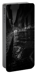 Portable Battery Charger featuring the photograph Florence Nights by Sonny Marcyan