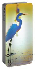 Florida Atlantic Beach Ocean Birds  Portable Battery Charger