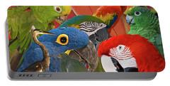 Florida Birds Portable Battery Charger