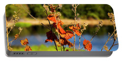 Florida Fall Leaves Portable Battery Charger