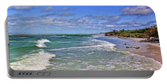 Florida Gulf Coast Beaches Portable Battery Charger by HH Photography of Florida