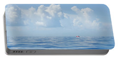 Florida Keys Clouds And Ocean Portable Battery Charger
