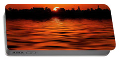 Florida Keys Sunset  Portable Battery Charger by Kevin Cable