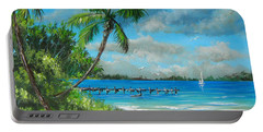 Florida Landscape Portable Battery Charger
