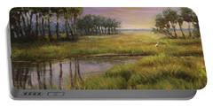 Florida Marsh Sunset Portable Battery Charger