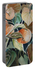 Florida Oranges Portable Battery Charger by Mindy Newman