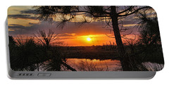 Florida Pine Sunset Portable Battery Charger