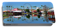 Portable Battery Charger featuring the photograph Florida State Fair 2017 by David Lee Thompson