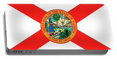 Florida State Flag Portable Battery Charger by American School