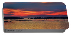 Portable Battery Charger featuring the photograph Florida West Coast  by Louis Ferreira