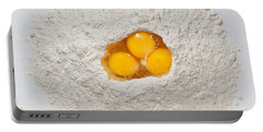 Flour And Eggs Portable Battery Charger