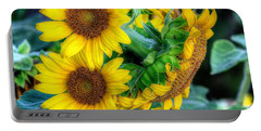 Flower #39 Portable Battery Charger