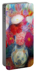 Flower Arrangement Portable Battery Charger