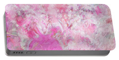 Flower Art The Scent Of Love Is In The Air Portable Battery Charger by Sherri's Of Palm Springs